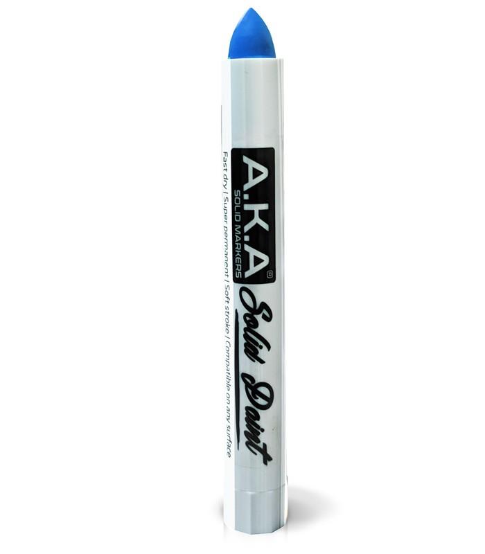Blau Farbkarte: Solid Paint Marker BLAU