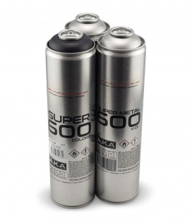 Pack x2 SUPERMETAL + x1 NEGRO 600ml
