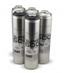 Pack x3 SUPERMETAL + x2 BLACK 600ml
