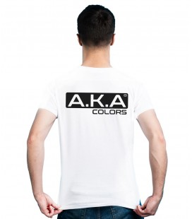 AKA Weißes T-Shirt